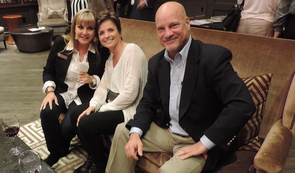 Amy Garcia, Pat Stark And Bob Collins