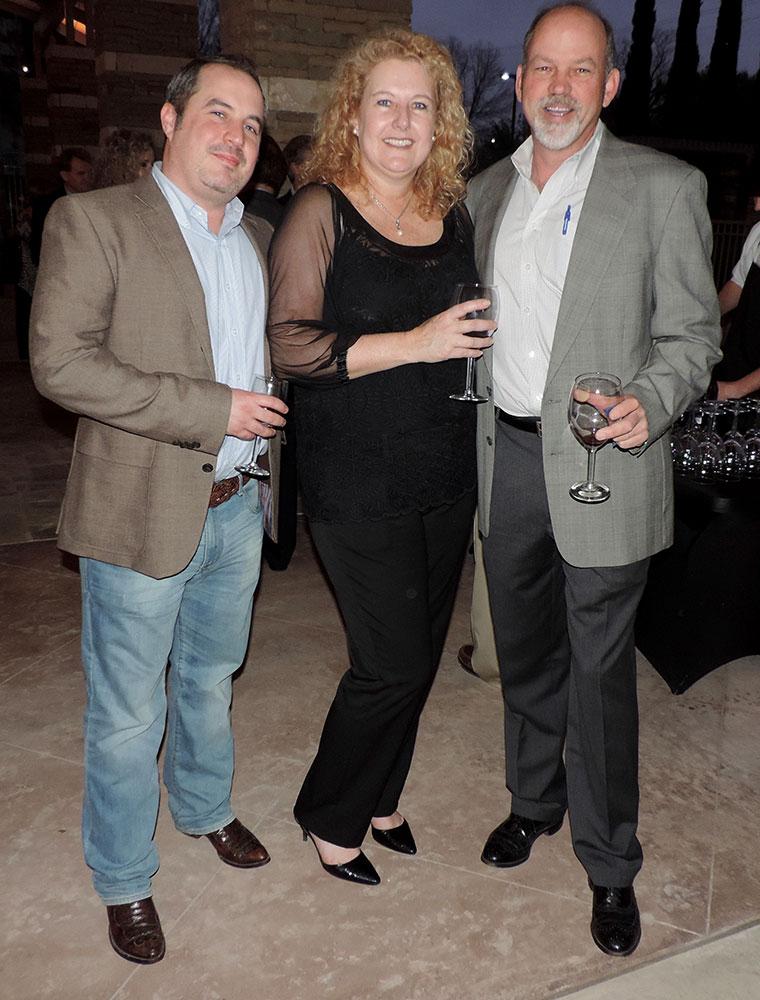 Austin Clarkson, Mandy Van Streepen And John Lyon