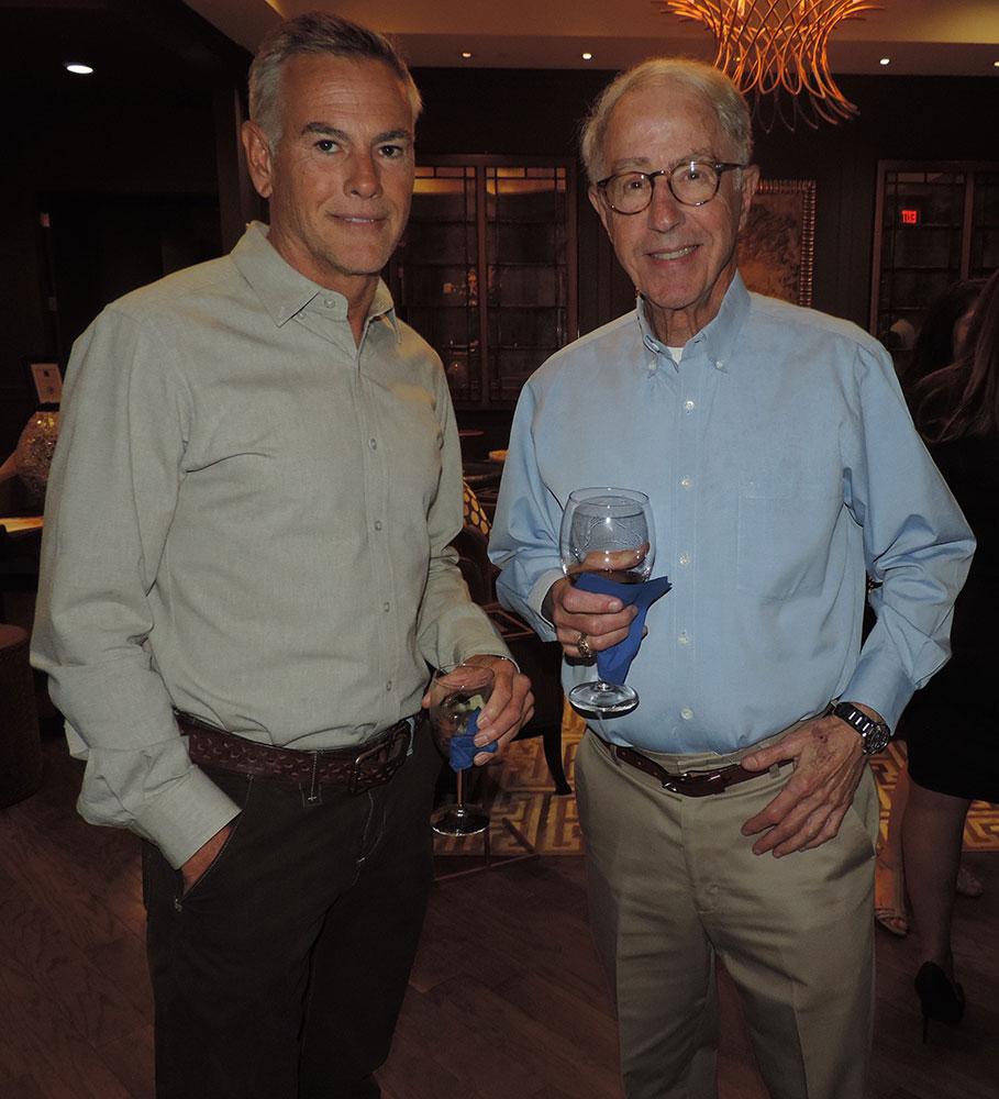 Brian Booker (left), Ken Train (1)