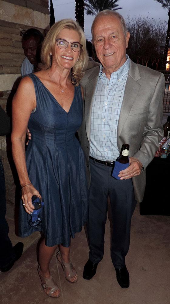 Donna Booker & Norton Stuart Jr.