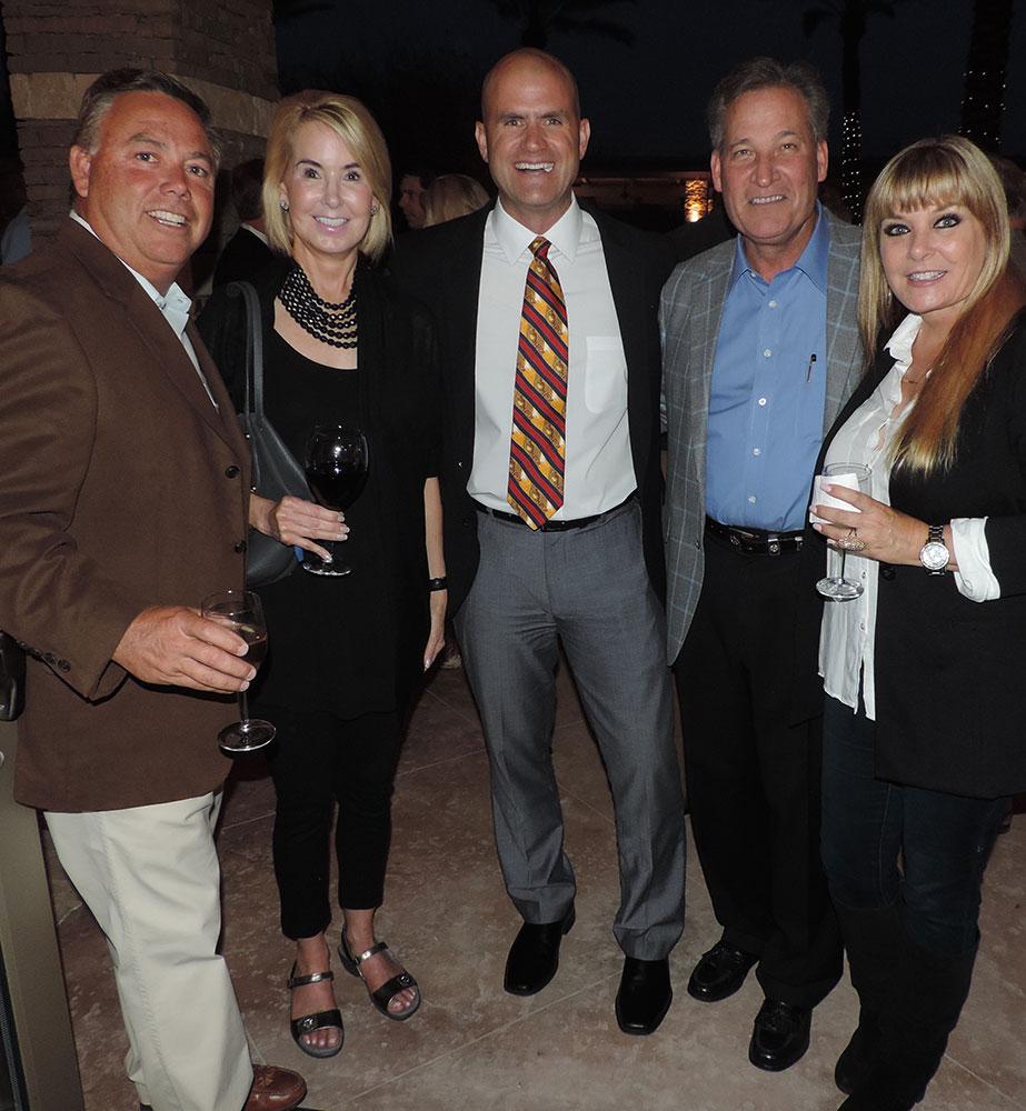 Donnie Garcia, Suzanne Cavender, Harry Adams, Rick Cavender And Amy Garcia