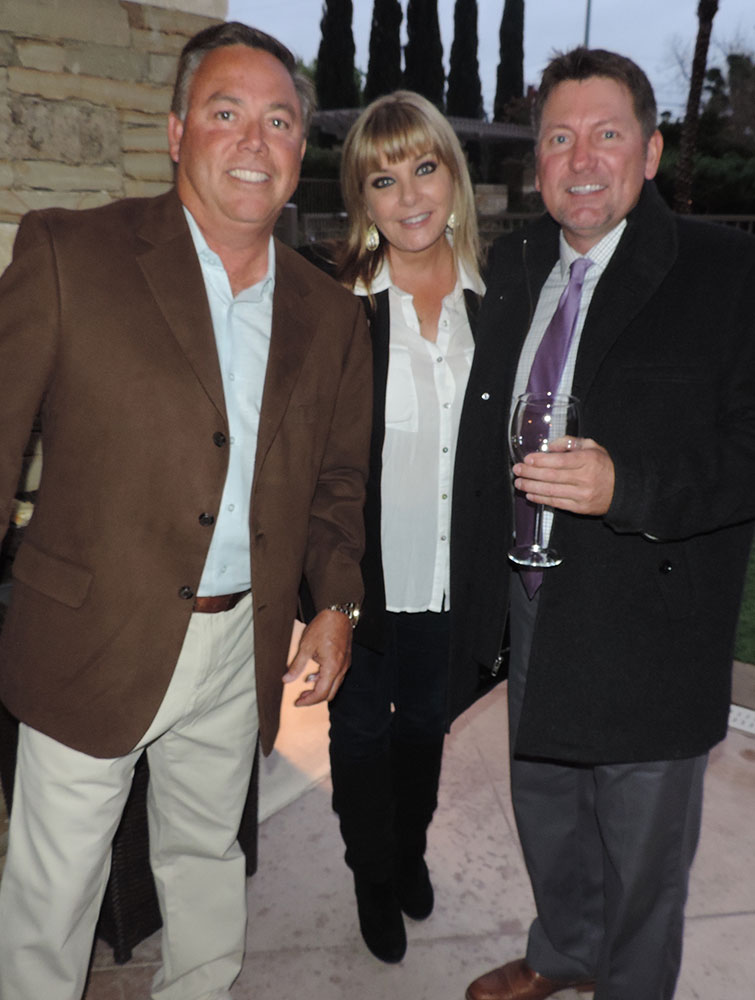 Donnie And Amy Garcia And James Hanson