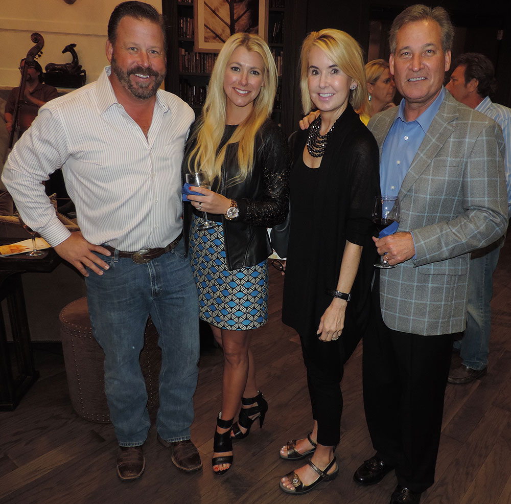 Jason And Brittany Gillman And Suzanne And Rick Cavender