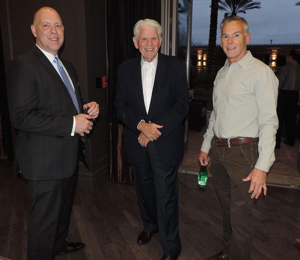 Lane Dixon (left), Chad Muller (center), Brian Booker (right)
