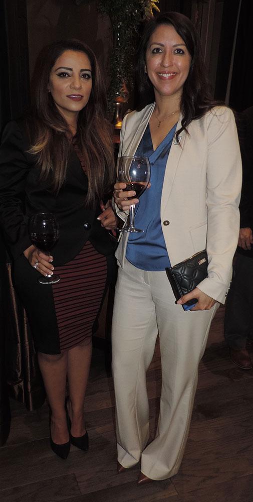 Maria Jose Boza And Nicole Pietramale