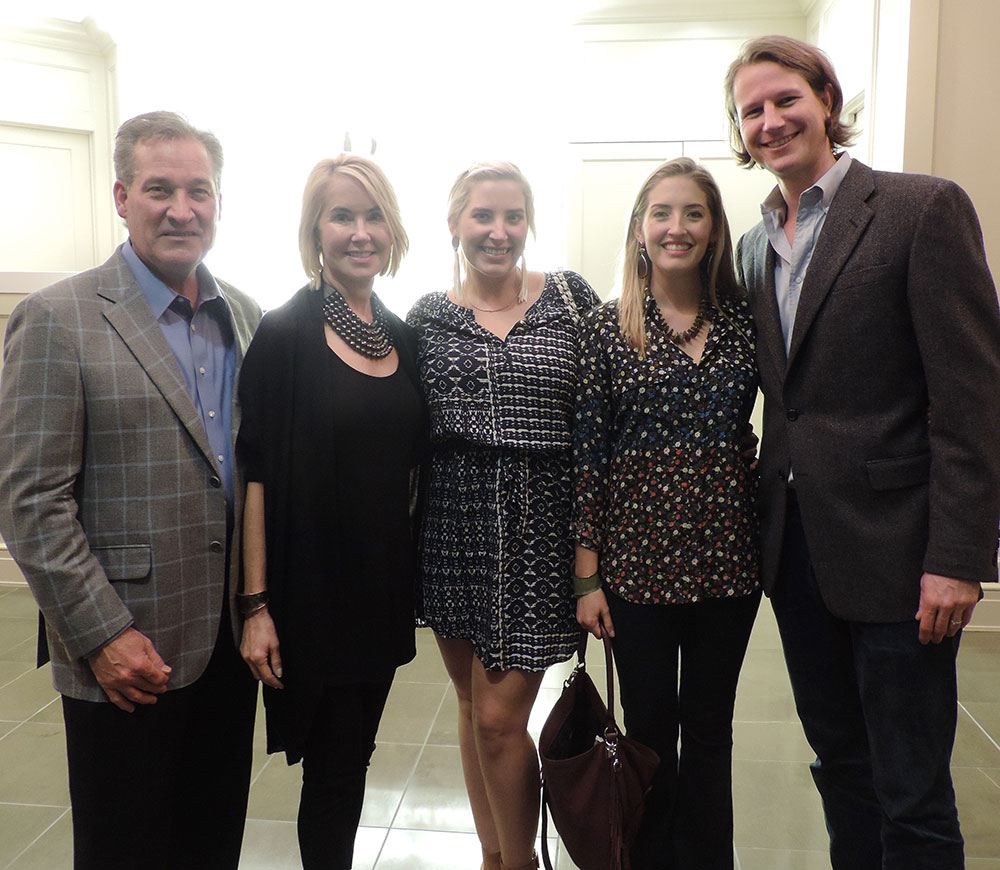 Rick And Suzanne Cavender, Claire Cavender, Courtney And Tobin Smith