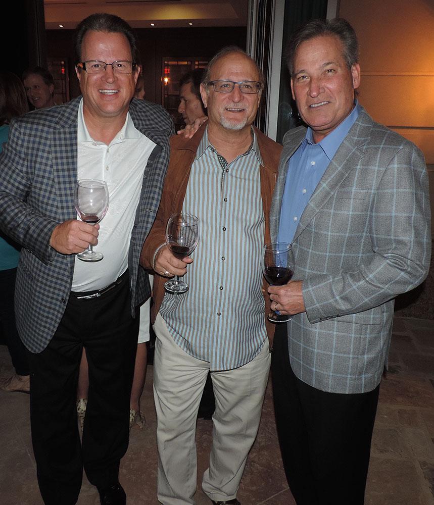 Tim Cliver, Steve Honigblum And Rick Cavender